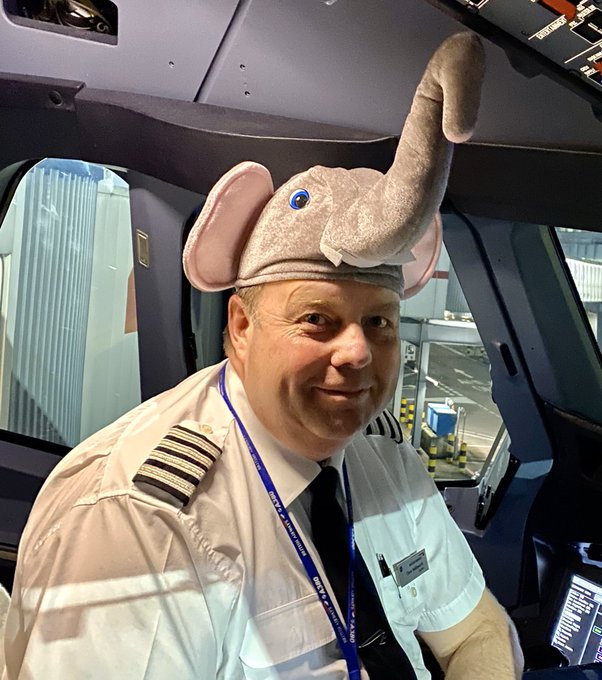 Captain Dave Wallsworth BA A380